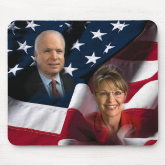 John McCain y Sarah Palin, 2008 elecciones Tapete De Raton