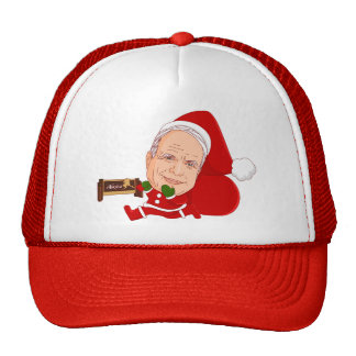 John McCain's New Job Doodle Art Hat
