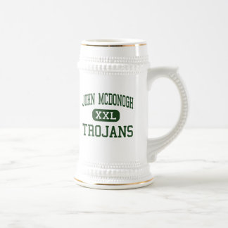 John McDonogh - Trojans - High - New Orleans Beer Stein