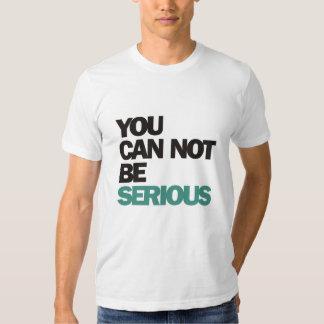 John McEnroe : You Can Not Be Serious Tee Shirt