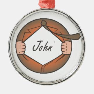 John Metal Ornament