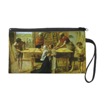 John Millais- Christ in the House of His Parents Wristlet Clutch