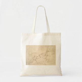 John Millais: Elgiva seized byorder of Odo Canvas Bag