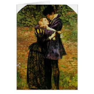 John Millais-Refusal of shelter by a Huguenot Card