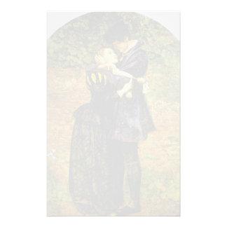 John Millais-Refusal of shelter by a Huguenot Stationery