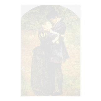 John Millais-Refusal of shelter by a Huguenot Customized Stationery