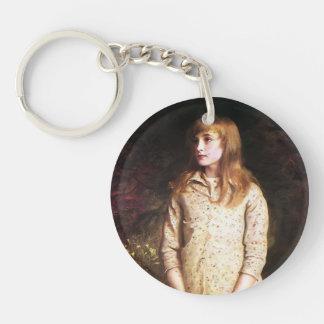 John Millais- Sweetest eyes that were ever seen… Keychain