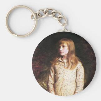 John Millais- Sweetest eyes that were ever seen… Keychains