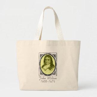 John Milton Tote Bags