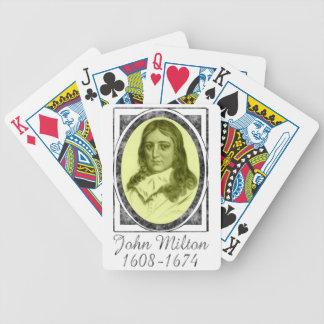 John Milton Bicycle Playing Cards
