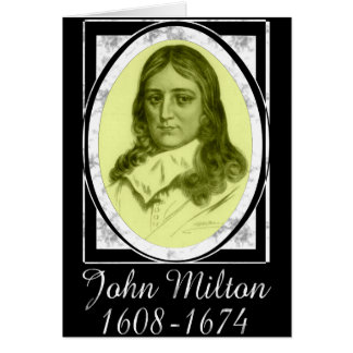 John Milton Card