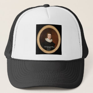 John Milton Love & Chocolate Quote Gifts & Cards Trucker Hat