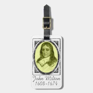John Milton Tags For Bags