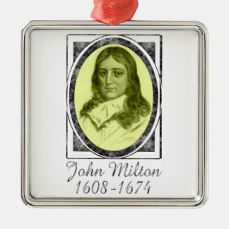 John Milton Metal Ornament
