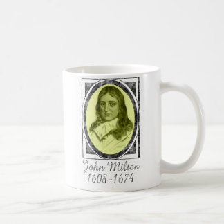 John Milton Classic White Coffee Mug
