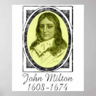 John Milton Poster