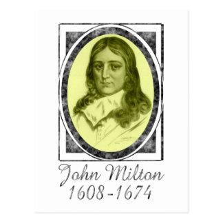John Milton Postcard