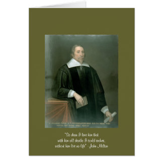 """John Milton """"So Dear"""" Quote On Womens Lace Up Shoe Card"""