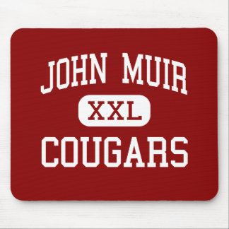 John Muir - Cougars - Middle - Los Angeles Mouse Pads