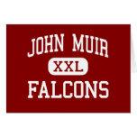 John Muir - Falcons - centro - San Leandro Tarjeta