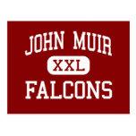 John Muir - Falcons - centro - San Leandro Postales