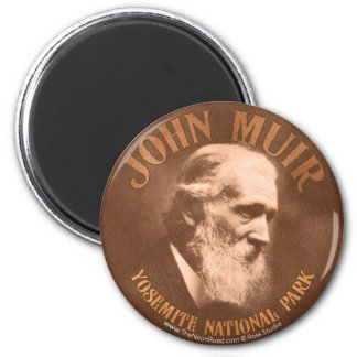 John Muir Magnet 1 Round