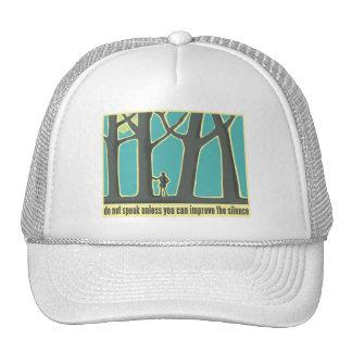 John Muir Quote Mesh Hats