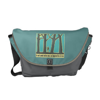 John Muir Quote Courier Bag