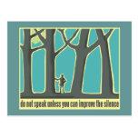 John Muir Quote Postcards