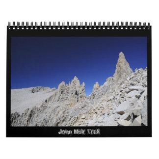 John Muir Trail 2011 Calendar