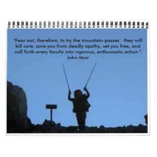 John Muir Trail - Customized Calendar