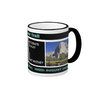John Muir Trail Design, With Your Date & Photos: Ringer Mug