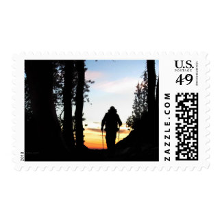 John Muir Trail Hiker 2 - Sierra Nevada Mountains Postage