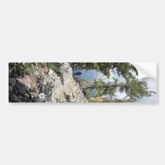 John Muir Trail Hiker - Sierra Nevada Mountains Bumper Sticker