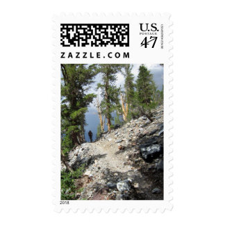 John Muir Trail Hiker - Sierra Nevada Mountains Postage