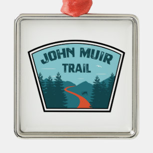 John Muir Trail Sign Ornament