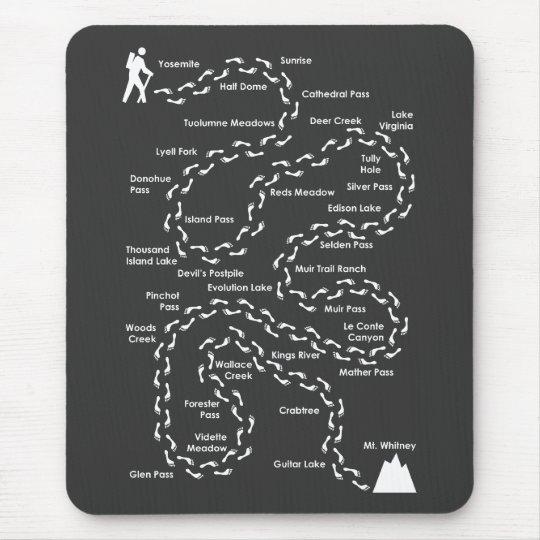 John Muir Trail Mousepad