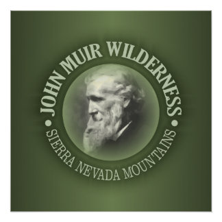 John Muir Wilderness Poster
