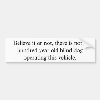 John Mulaney Joke Bumper Sticker