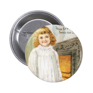 John Mundell and Co Childrens Shoes Pinback Buttons