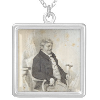 John Nichols, engraved by H. Meyer, 1825 Silver Plated Necklace