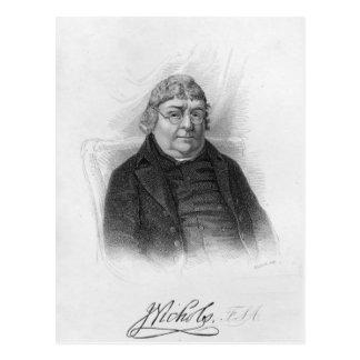 John Nichols, engraved by Woolnoth Postcard