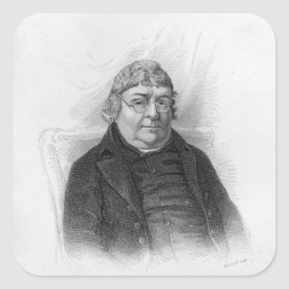 John Nichols, engraved by Woolnoth Square Sticker