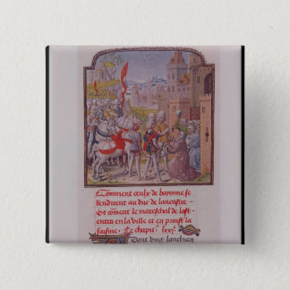 John of Gaunt being received by the citizens Button