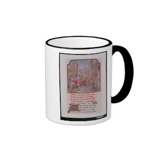 John of Gaunt being received by the citizens Ringer Coffee Mug