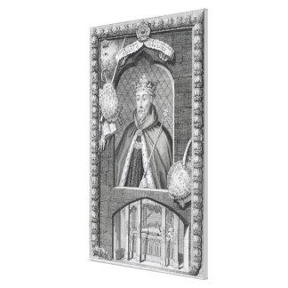 John of Gaunt, Duke of Lancaster (1340-99) after a Canvas Print