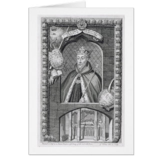 John of Gaunt, Duke of Lancaster (1340-99) after a Card
