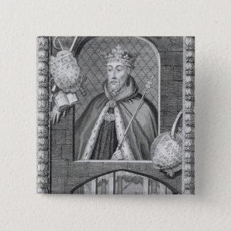 John of Gaunt, Duke of Lancaster (1340-99) after a Pinback Button