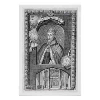 John of Gaunt, Duke of Lancaster (1340-99) after a Poster