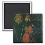 John of Gaunt, Duke of Lancaster 2 Inch Square Magnet
